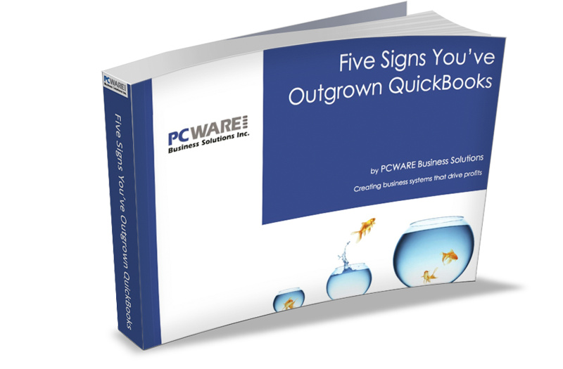 Free eBook - Five Signs Your've Outgrown QuickBooks